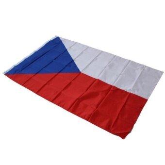 3'x5 'สาธารณรัฐเช็กธงกลางแจ้งในร่มขนาดใหญ่ใหม่ 3X5 Lambertshop-นานาชาติ