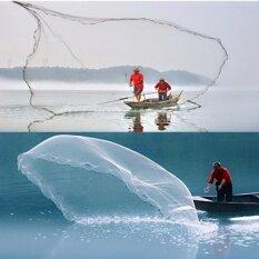ราคา 3 4 Mono Mesh Drawstring Fishing Cast Net Chain Bottom Full Spread 28Mm Wire Intl Unbranded Generic Thailand