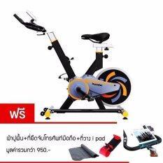 ซื้อ 360 Ongsa Fitness จักรยานนั่งปั่น Jts611 1 สีดำ แถมฟรี ที่วาง Ipad ผ้าปูพิ้น ที่ยึดจับโทรศัพท์มือถือ ใหม่