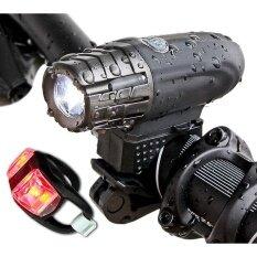 ซื้อ 360°Rotation Torch Clip Mount Bike Bicycle Front Light Bracket Flashlight Holder Intl ถูก ใน จีน