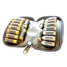 กระเป๋าใส่ลูกกระสุนปืน ใส่กับลูก.38,9มมและ357 ใส่กระสุนได้ 20 นัด..