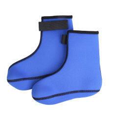 ทบทวน 3Mm Neoprene Diving Scuba Surfing Swimming Socks Water Sports Boots Blue L Bolehdeals