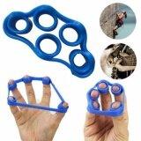 ราคา 3 ชิ้นมือนิ้วมือ Strength Exerciser เทรนเนอร์ Strengthener Grip Resistance Band ความตึงเครียด 5 นิ้วการออกกำลังกายวงแหวน 0090 Unbranded Generic