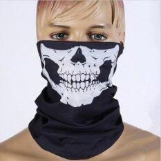 ราคา 3Pcs Crossbone Cool Face Mask Scarf For Motorcycle Riding Cycling Outdoor Sport Intl Unbranded Generic
