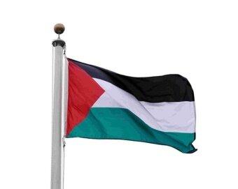 3X5 ธงปาเลสไตน์ปาเลสไตน์ธงแบนเนอร์ใหม่ - นานาชาติ