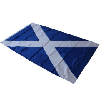 3x5 Scotland Cross Flag Saint Andrew Banner Saltire Scottish Pennant New - intl