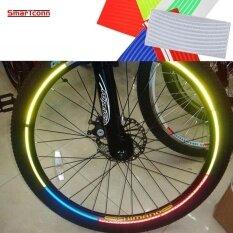 ซื้อ 4 Pcsbicycle Stickers Mtb Bike Motorcycle 26 Inch Wheel Tire Tyre Reflective Stickers Strip Decal Tape Night Cycling Safety Intl Unbranded Generic เป็นต้นฉบับ