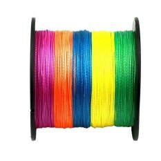 ส่วนลด 4 Strands Super Strong Durable Pe Braided Fishing Line 500M Colour 2 Intl