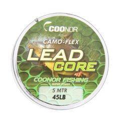 โปรโมชั่น 45Lb 5M Leadcore Braided Camouflage Carp Fishing Line Hair Rigs Lead Core Intl