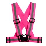 ราคา 4Cm Unisex Adjustable Reflective Vest High Visibility Safety Straps For Jogging Cycling Walking Running Intl Unbranded Generic ออนไลน์