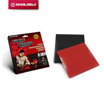 4mm Thick Table Tennis Rubber(Random Color) - intl