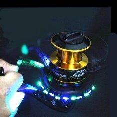 ขาย 5000 Series 10 1 แบริ่งลูก 5 5 1 ตกปลา Reel Led Flash Fishing Spinning Reel Fishing Tackle Reel กับ Emitting Led ใหม่