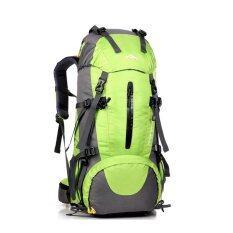 โปรโมชั่น 50L Climbing Outdoor Travel Sport Camping Hiking Backpack Green Intl จีน
