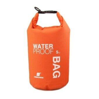 5L ที่เก็บกระเป๋ากันน้ำสำหรับเรือแคนูเรือคายัคล่องแก่งกล้องโทรศัพท์มือถือหรือ-นานาชาติ