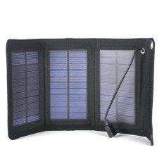 โปรโมชั่น 5W Solar Battery Usb Pack For Cellphone Black Charger Portable Panel Bank Intl จีน