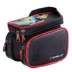 ซื้อ 6 2 Inch Waterproof Phone Tpu Touch Screen Bike Front Frame Top Tube Bag Intl ถูก ใน จีน