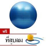 ขาย ลูกบอลโยคะ 65 ซม รุ่น Dk 065 สีน้ำเงิน แถมฟรี ที่สูบลม Kakuki ผู้ค้าส่ง