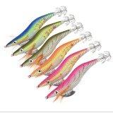 ซื้อ 6ชิ้น6สี เหยื่อปลอมตกหมึก เซ็ตโยกุ้งเรืองแสง 6Pc Squid Jigs Brand Fishing Lure Fishing Tackle 6 Color 11G 10Cm Fishing Bait 2 5 Hook ออนไลน์ ถูก