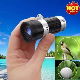 7-fourteen Nikula กล้องวัดระยะสำหรับกอล์ฟ 7x18mm FT-01015-