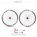 ราคา 700C Road Bicycle Front Rear Ultra Light Wheel 30Mm Clincher Bike Wheelset Rims Intl เป็นต้นฉบับ
