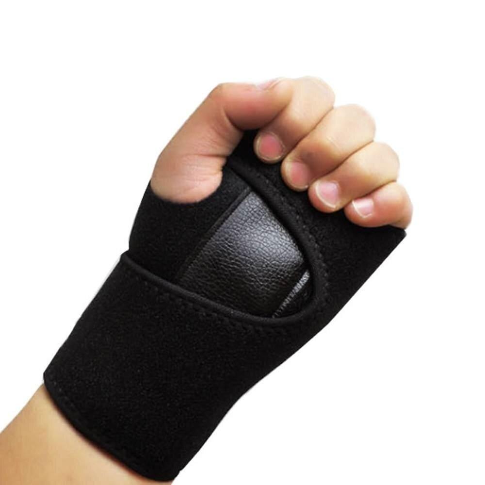 ข้อต่อสายรัดข้อมือเหล็กปรับโรคข้ออักเสบ Sprain Carpal อุโมงค์ Splint ห่อ - นานาชาติ
