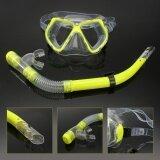 ขาย *d*lt Glass Swimming Swim Diving Scuba Anti Fog Goggles Mask Snorkel Set Intl ใหม่