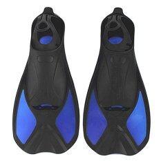 ซื้อ *d*lt Kids Professional Short Snorkeling Swim Fins Outdoor Diving Training Swim Flippers M(40 41 Yards Intl ถูก จีน
