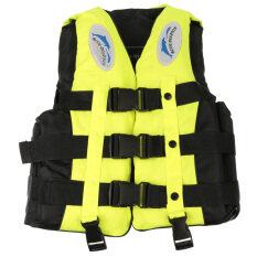 ราคา *d*lt Swimming Life Jacket Vest Whistle S Size Yellow Unbranded Generic แองโกลา