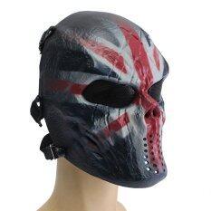 ขาย Airsoft Paintball Full Face Protection Skull Mask Outdoor Tactical Gear Knight Unbranded Generic ถูก