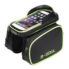 ขาย Allwin B Soul 6 2 Bicycle Bag Front Tube Saddle Bag Waterproof Mobile Phone Bag Intl ออนไลน์ ใน จีน