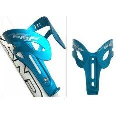 อลูมิเนียมอัลลอยด์น้ำหนักเบาขี่จักรยานจักรยานภูเขาขวดน้ำจักรยานที่ใส่ขวดน้ำ Bracket (สีฟ้า) - Intl By Super Star Mall.