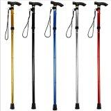 ขาย Aluminum Alloy Cane Cane Cane Old Elderly Walker 5 Section Telescopic Portable Thickening Walking Stick Intl ใน จีน