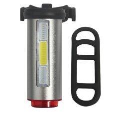 ราคา Aluminum Rechargeable Bike Tail Light Safety Warning Bicycle Rear Lamp Intl ใหม่