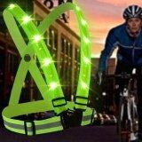 ซื้อ Aluo Hot Sales Led Reflective Safety Vest High Visibility Usb Charging For Outdoor Activities Running Cycling Jogging Walking Intl จีน