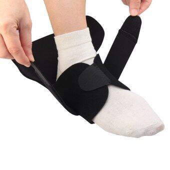 Andux Adjustable Sport Basketball Ankle Foot Elastic Neoprene Brace Support Wrap HH-01 Black