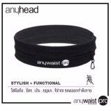 ซื้อ Anyhead สายคาดเอว เก็บมือถือ Anywaist Pro Running Belt Black Anyhead ถูก