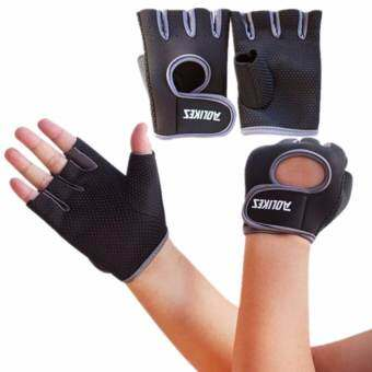 AOLIKES ถุงมือฟิตเนส Fitness Glove Weight Lifting Gloves Int:L