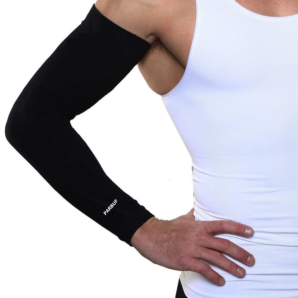 AQUA-X ปลอกแขน UV99.8% ICEZ Free size - Black