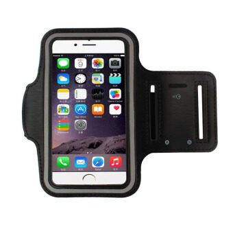 Armband Gym Running Sport Arm Band Cover for Iphone 6 4.7 Inch (Black)