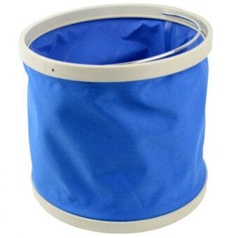 Astar Cyber Portable Telescopic 9L Car Washing Bucket (Blue) - intl