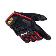 Axy ร้อนมอเตอร์ไซค์ถุงมือผู้ชายยุทธวิธีมอเตอร์ไซด์กลางแจ้งกีฬาถุงมือสีแดง - นานาชาติ By Axy Shop.