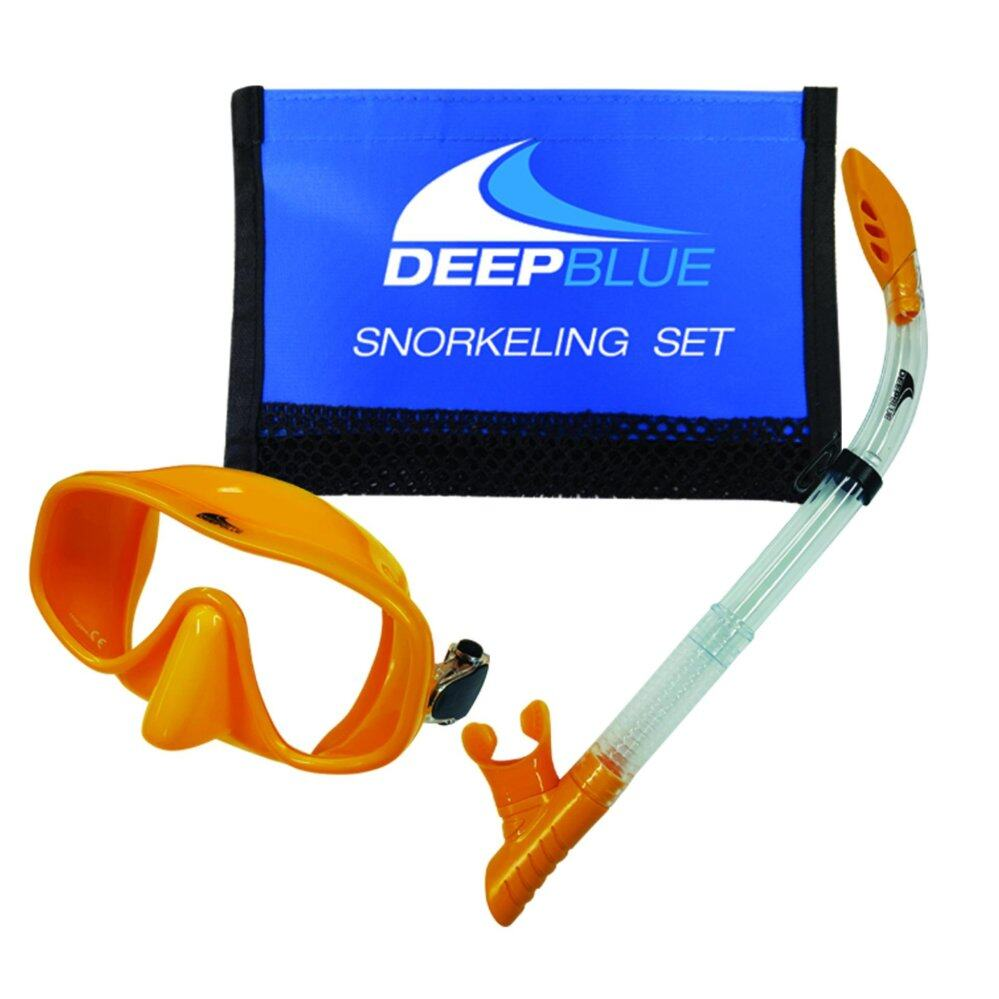 Bali Mask & Snorkel Set, in Mesh Bag