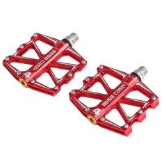 ราคา ราคาถูกที่สุด Basecamp Bc 688 Paired Aluminum Alloy Anti Slip Mountain Bike Pedal Fixed Gear Treadle With 4 Ball Bearing Bicycle Accessories