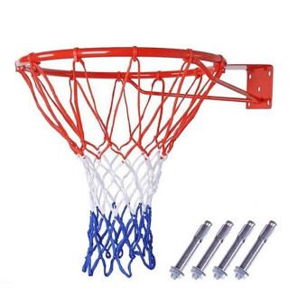 Basketball Hoop Net Ring Wall Mounted Outdoor Hanging Basket 18\ 45cm
