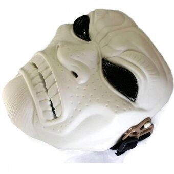 BBGUN MASKSPARTAN 300 {WHITE} วัสดุพลาสติก ABS คุณภาพสูง สำหรับเล่นกีฬาบีบี และคลอสเพลย์