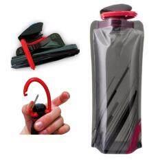 ขาย Begins ขวดน้ำ พับได้ สำหรับพกพา 700 Ml Collapsible Reusable Water Bottle Begins เป็นต้นฉบับ