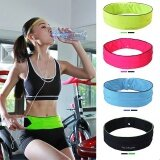 Belly Waist Bum Bag Fitness Running Jogging Cycling Belt Pouch Sports F*Nny Pack Black M Intl ใน จีน