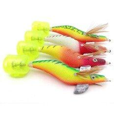 ขาย Best Seller Astar Hard Shrimp Squid Jigs Fishing Lures Sharp Hook Shrimp Baits Fishing Tackle Intl ออนไลน์