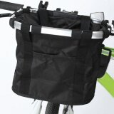 ราคา Bicycle Basket Bike Cycle Aluminum Frame Detachable Front Handlebar Folding Bag Intl ออนไลน์ จีน