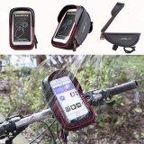 ทบทวน Bicycle Bike Cycling Front Frame Tube Handlebar Bag Waterproof 6 Mobile Phone Intl Unbranded Generic